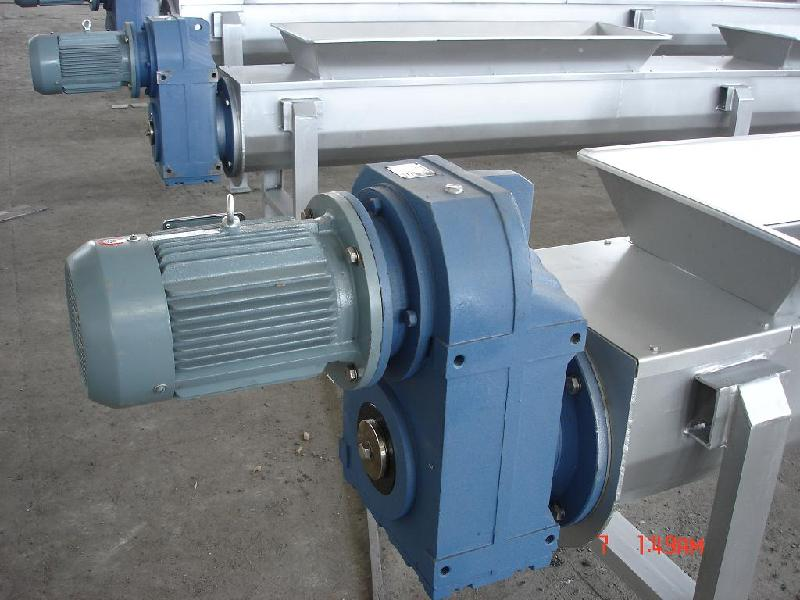 F Series Parallel Shaft Helical Geared Motor For Screw