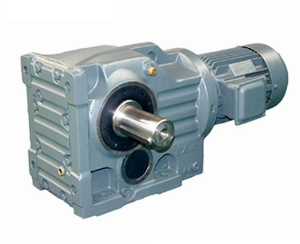 Kaf127 Bevel Helical Gearbox With Am Motor Adapter